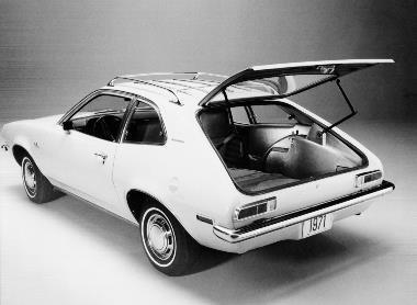 2. 1971 Ford Pinto__Open Hatch